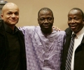 with Abdoulaye Diabate and Sidiki Sangare