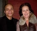 with Fiona Shaw