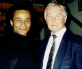 with sir Derek Jacobi