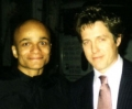 with Hugh Grant