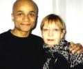 Omar Sangare with Elżbieta Czyżewska 2002